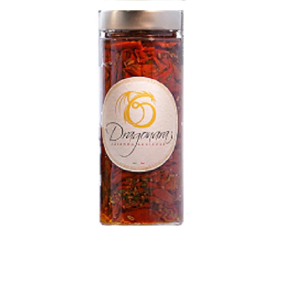 BIO Dried Tomatoes in Oil e.v.o. - Jar of 220 gr - Pack of 24 x 220 gr
