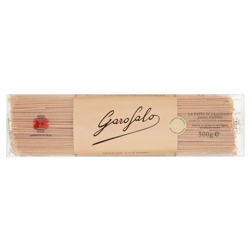 5-9 VOLLKORN SPAGHETTI - Vollkorn Pasta - Biologisch - Packung von 24 x 500g