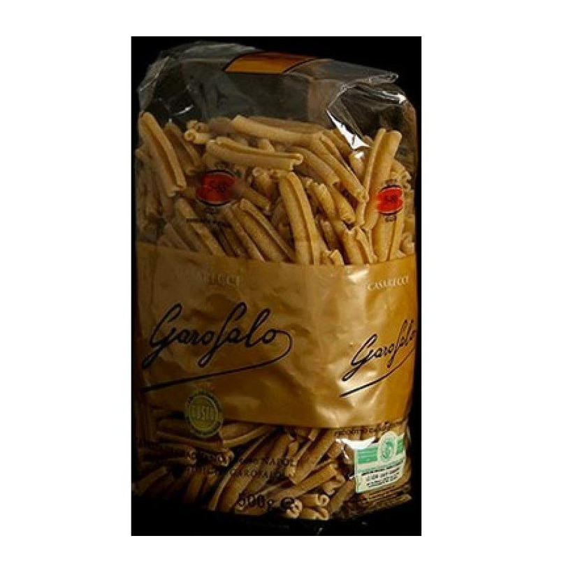 5-88 WHOLE WHEAT CASARECCE - Wholemeal Pasta - Organic - Pack of 16 x 500g