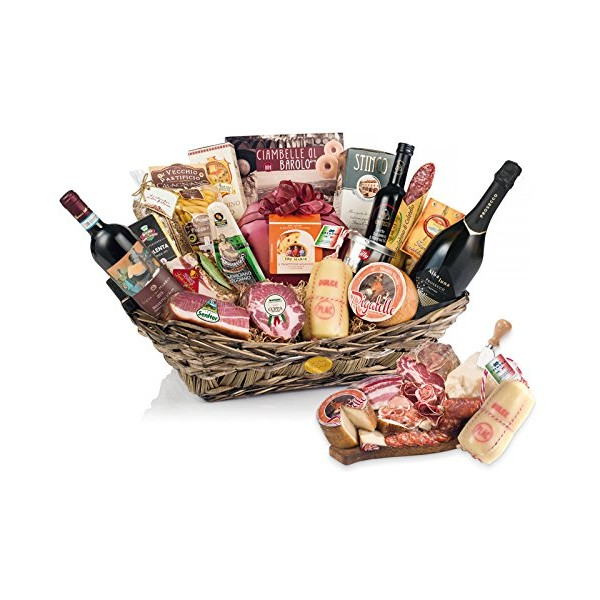 Christmas Baskets.Christmas Gift Basket Ghiotta Dispensa 19 Enogastronomic Specialties Yeseatis Gourmet Baskets Products