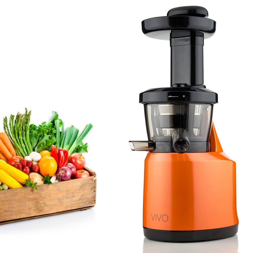 Vivo Low Speed Juice Extractor - 43 RPMs / Min - 0.5 liters - 150 Watt - Orange
