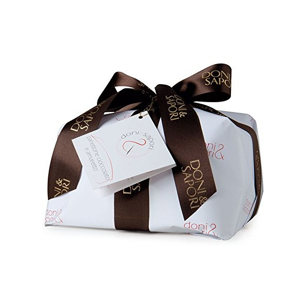 photo Doni & Sapori - Handmade Panettone with Chocolate and Amaretto - 1 Kg