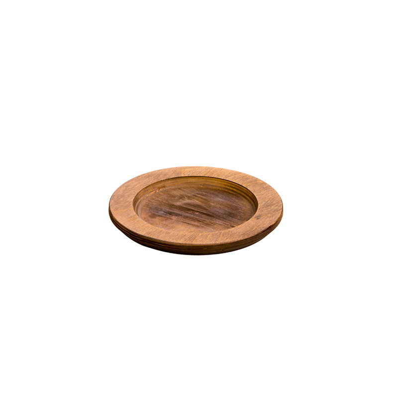 Lodge Large Round Wood Underliner