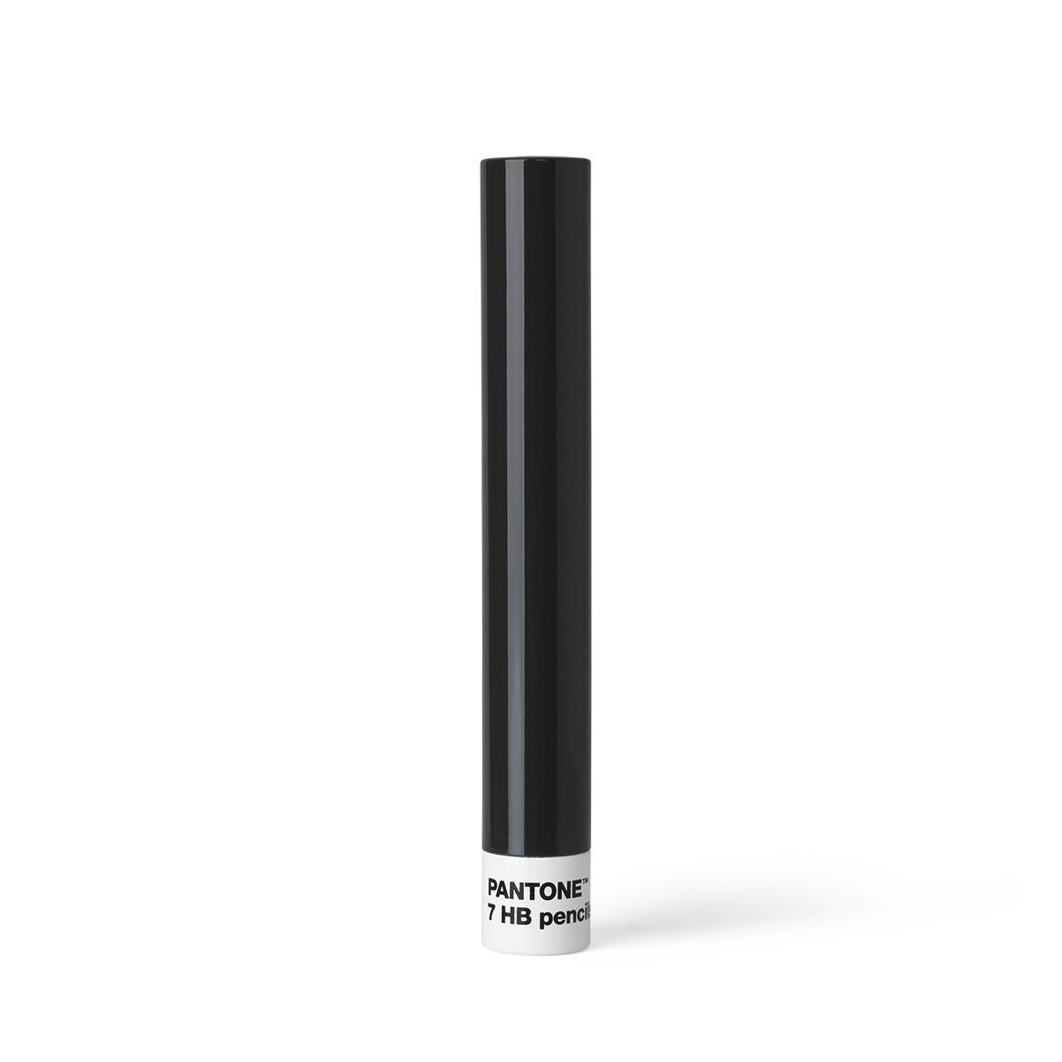 7 HB Pencils in Metal Tube - Gray 446