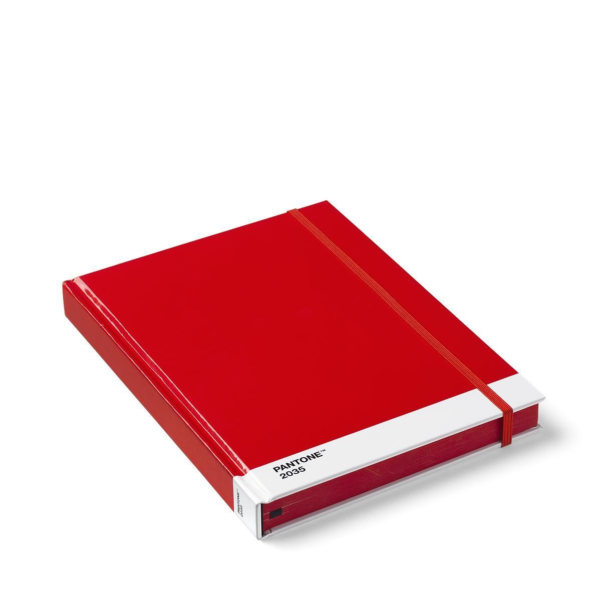 Notizbuch Groß Rot 2035 Pantone Büro Produkte