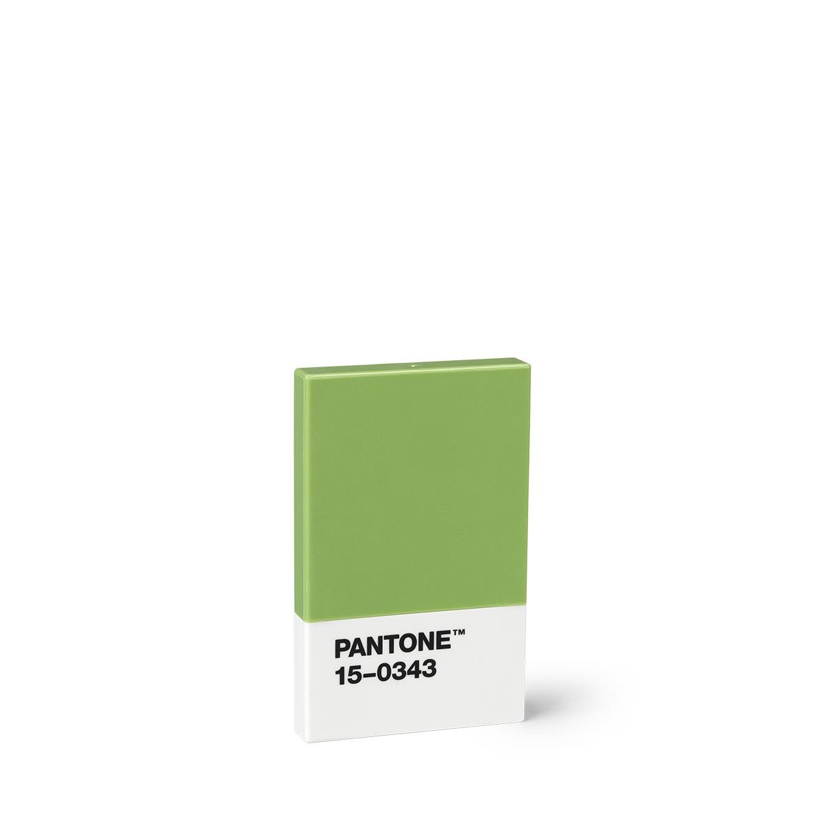 Kreditkarte Visitenkartenetui Grün 15 0343 Pantone Büro Produkte