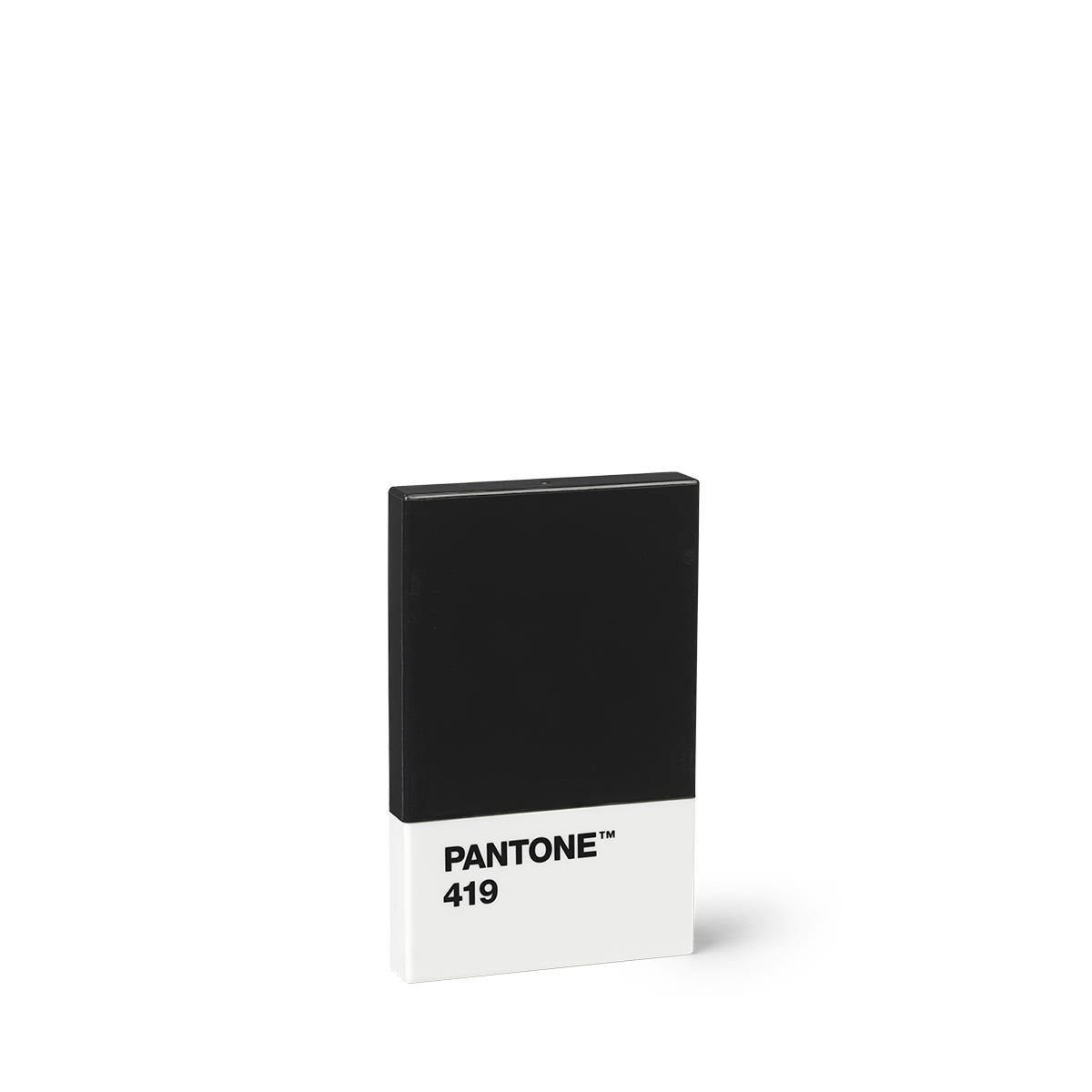 Kreditkarte Visitenkartenetui Schwarz 419 Set Von 2 Stück Pantone Büro Produkte