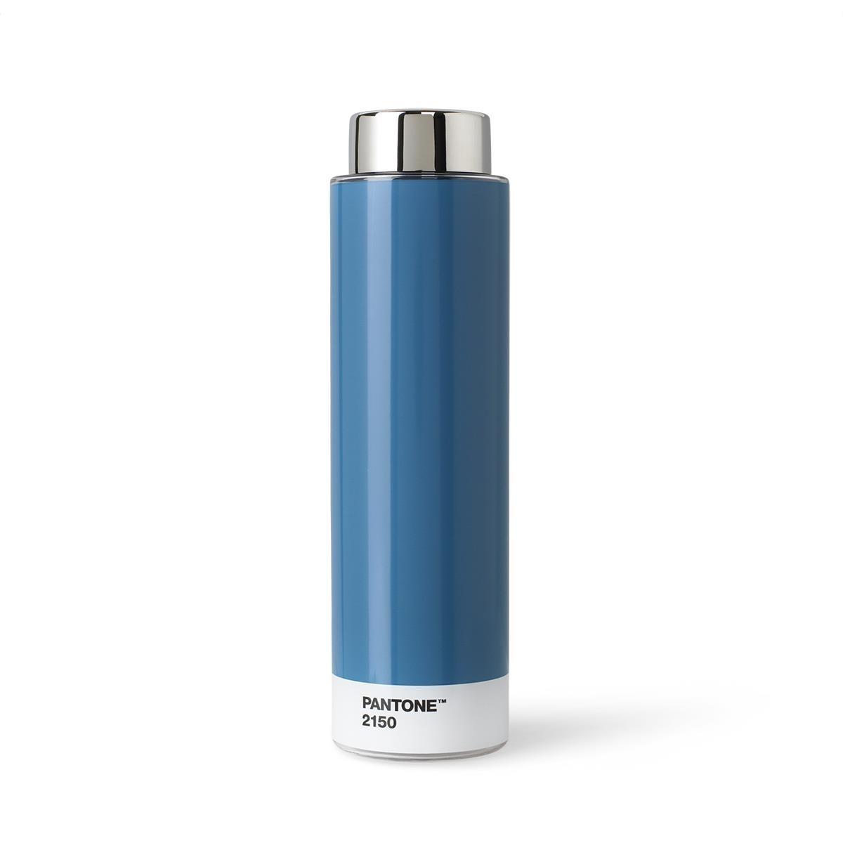 Borraccia Tritan - 500 ml - Acciaio Inossidabile - Blu 2150 - Set da 6 Pezzi