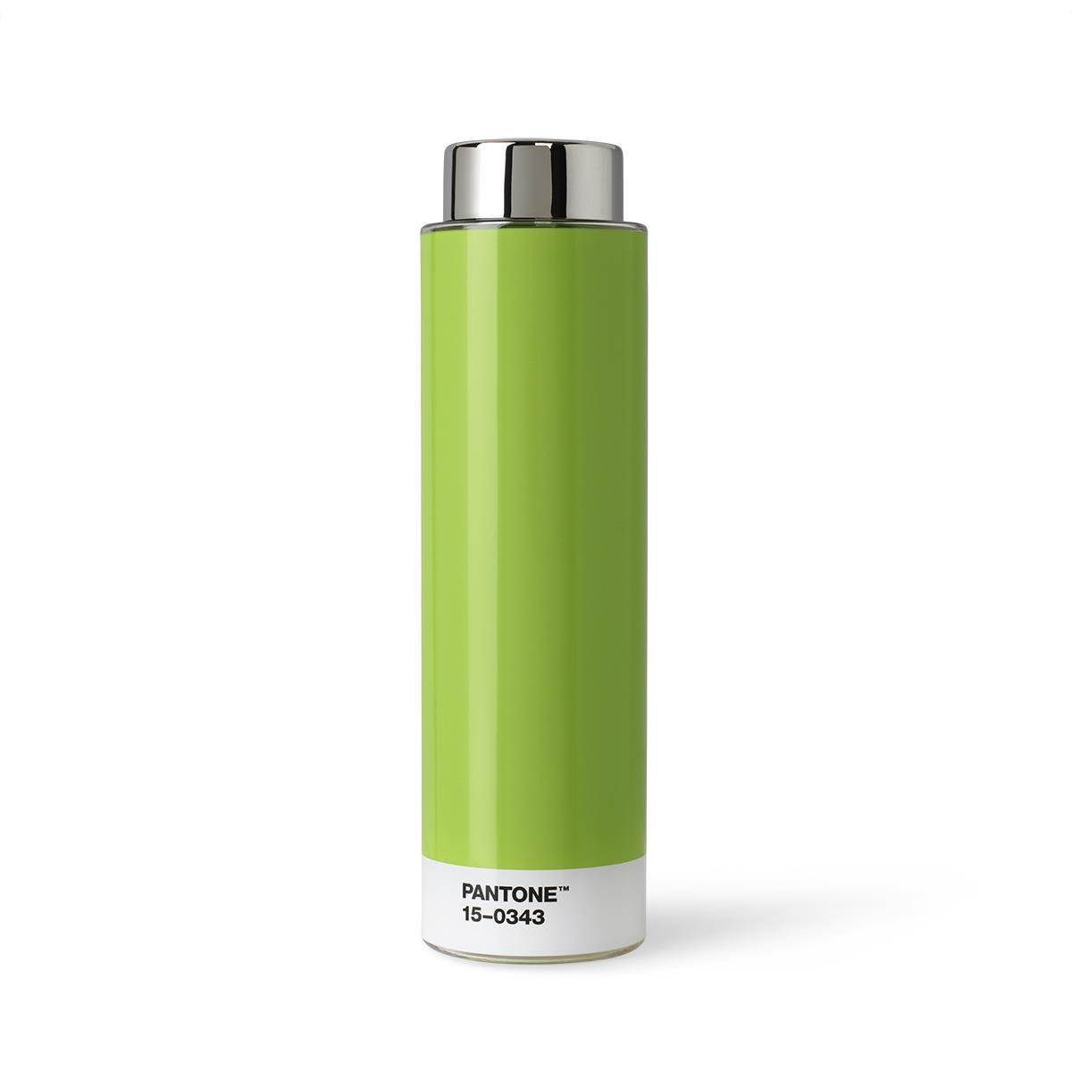 Borraccia Tritan - 500 ml - Acciaio Inossidabile - Verde 15-0343 - Set da 6 Pezzi