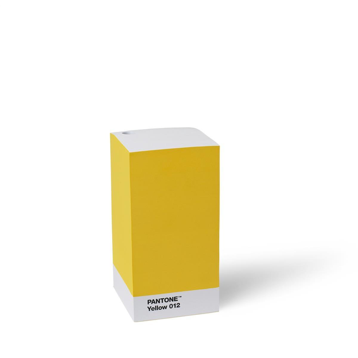 Notizzettelblock Gelb 012 Set Von 4 Stück Pantone Büro Produkte