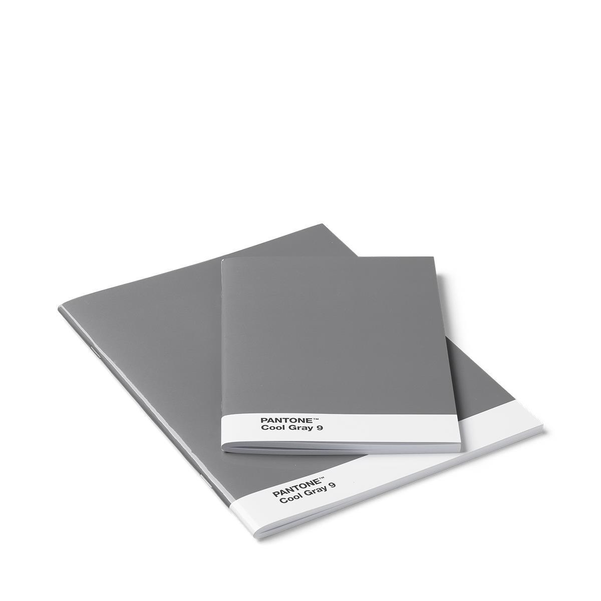 Confezione da 2 quaderni - Grigio Freddo 9 - Set da 12 pezzi