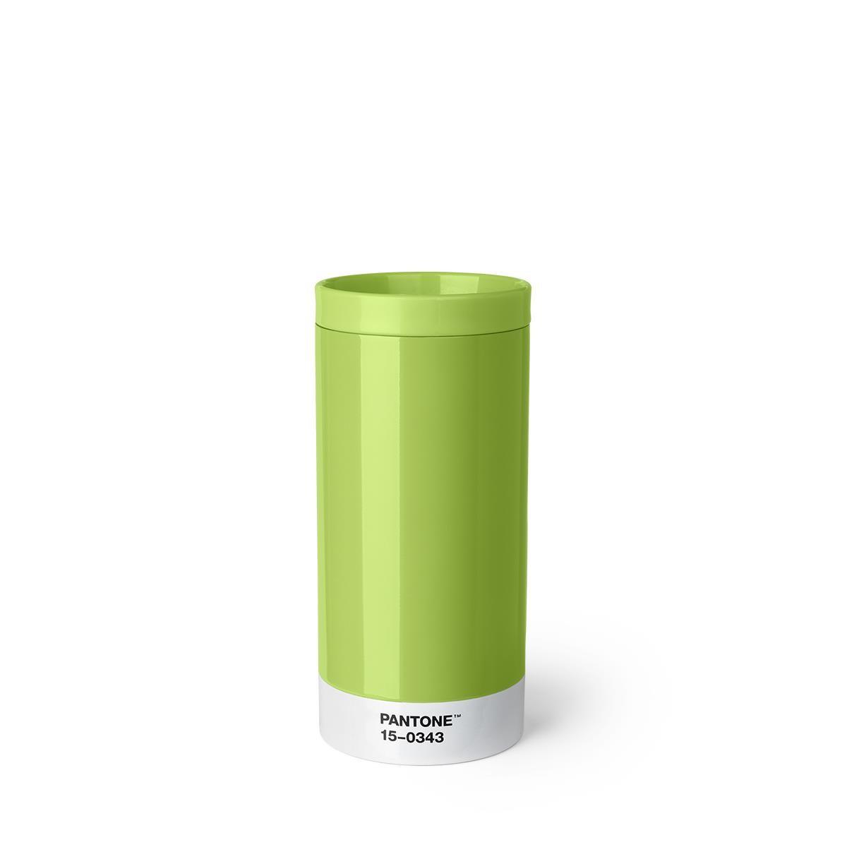 Tazza da Viaggio in Acciaio - Verde 15-0343 - Set da 6 Pezzi