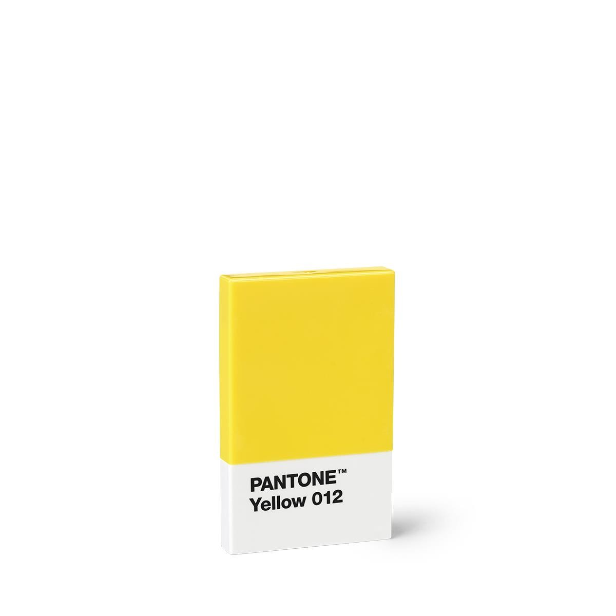 Credit Business Card Holder Yellow 012 Set Of 10 Pieces Pantone Office Products