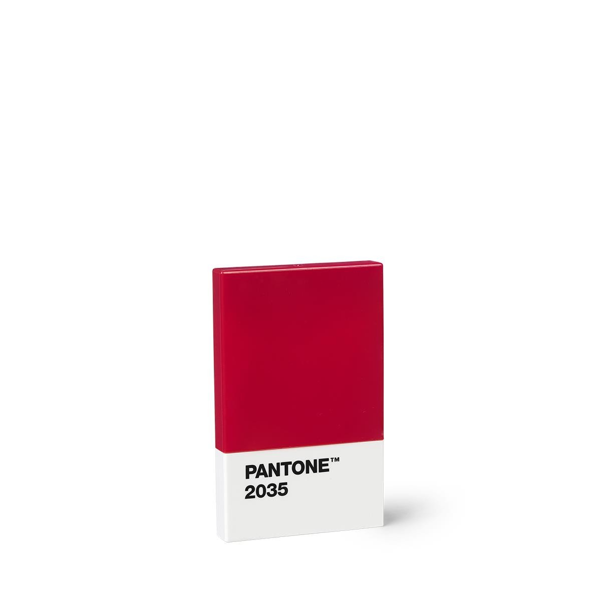 Kreditkarte Visitenkartenetui Rot 2035 Set Von 10 Stück Pantone Büro Produkte