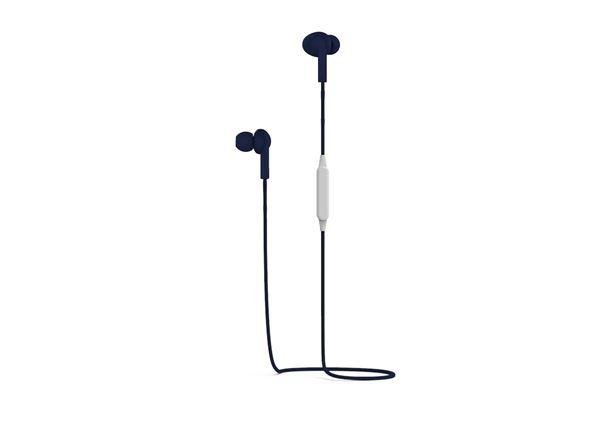 Auricolari Stereo Bluetooth - 5 Ore di Autonomia - Blu