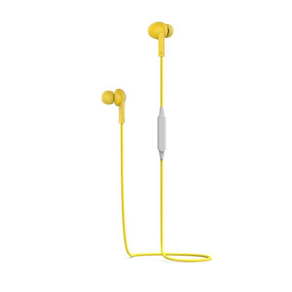 Auricolari Stereo Bluetooth - 5 Ore di Autonomia - Giallo