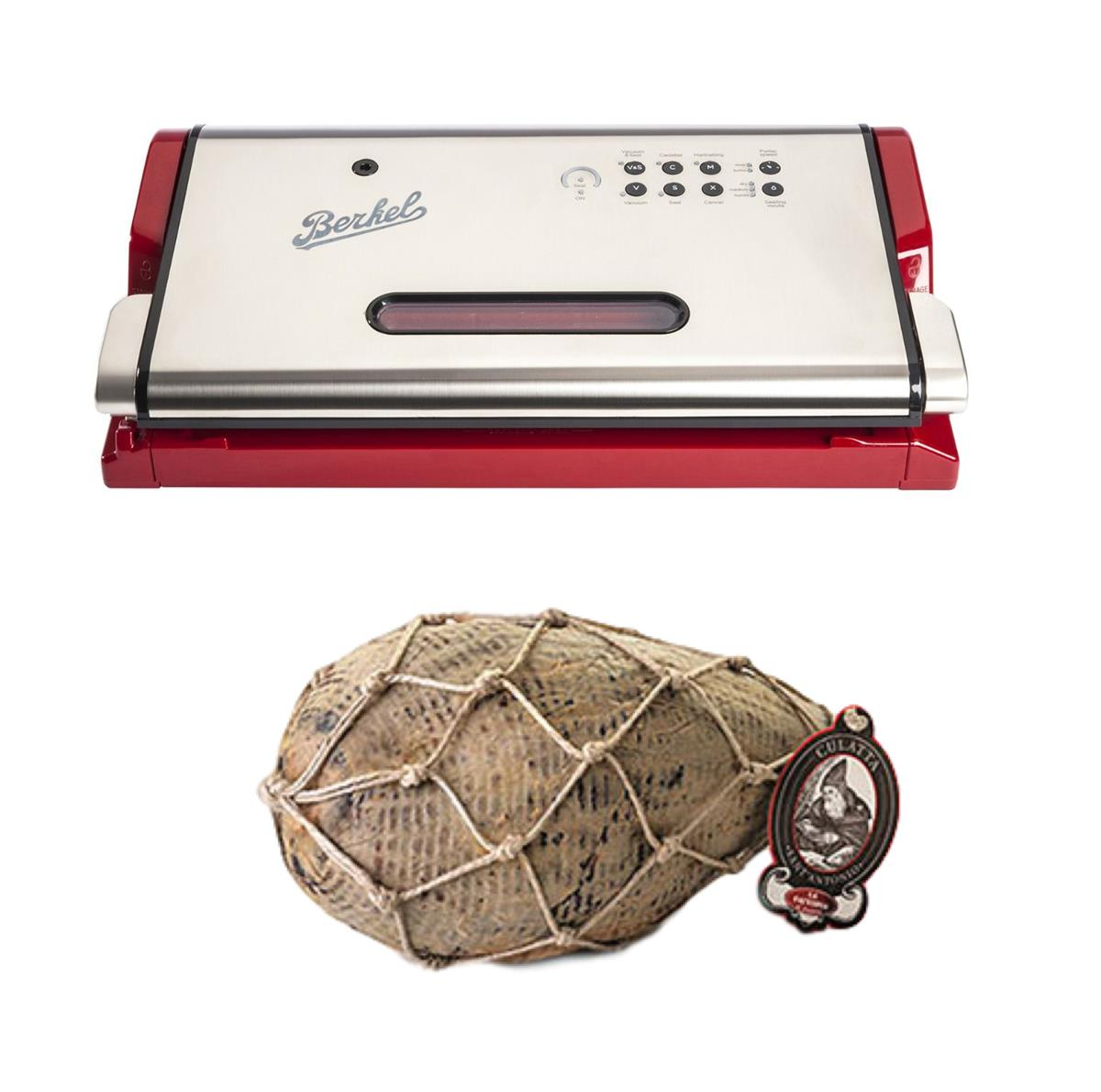 Vacuum machine + Full Coppa with leather