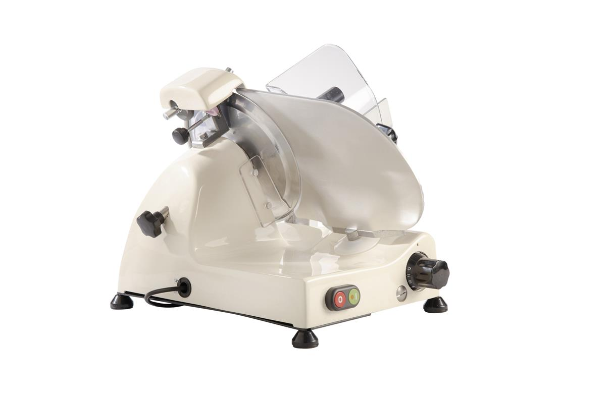 Affettatrice elettrica Curvy Line C220 - Lama 22cm - Affilatoio fisso - Crema