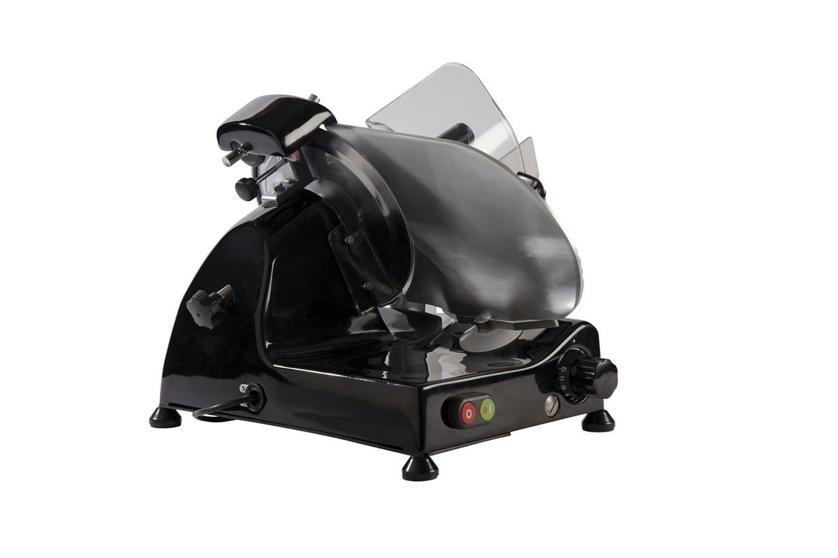 Affettatrice elettrica Curvy Line C250R - Lama 25cm - Affilatoio fisso - Nero