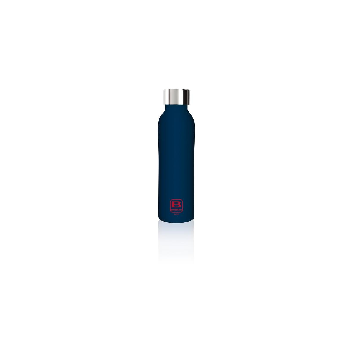 B Bottles Twin - Blue Marine - 500 ml - Bottiglia Termica a doppia parete in acciaio inox 18/10