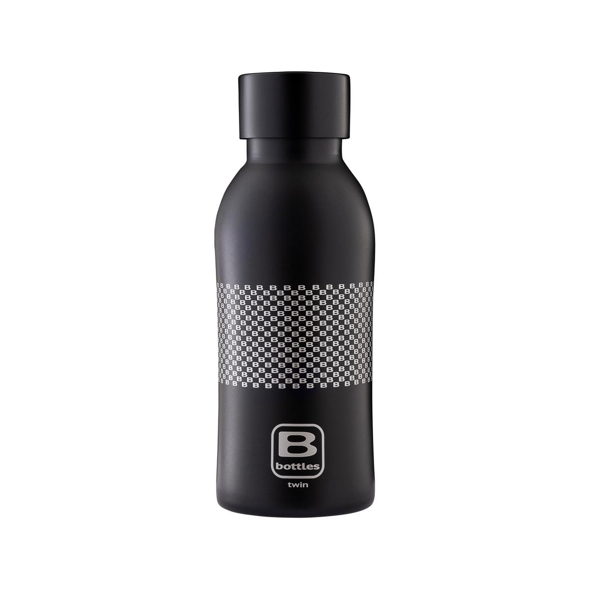 B Bottles Twin - B Pattern - 350 ml - Bottiglia Termica a doppia parete in acciaio inox 18/10
