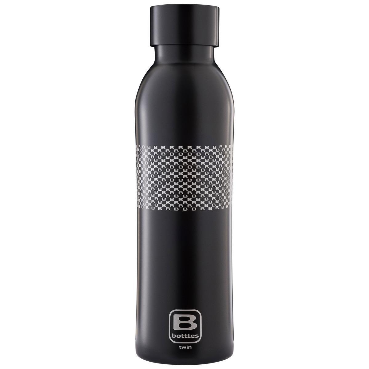 B Bottles Twin - B Pattern - 500 ml - Bottiglia Termica a doppia parete in acciaio inox 18/10