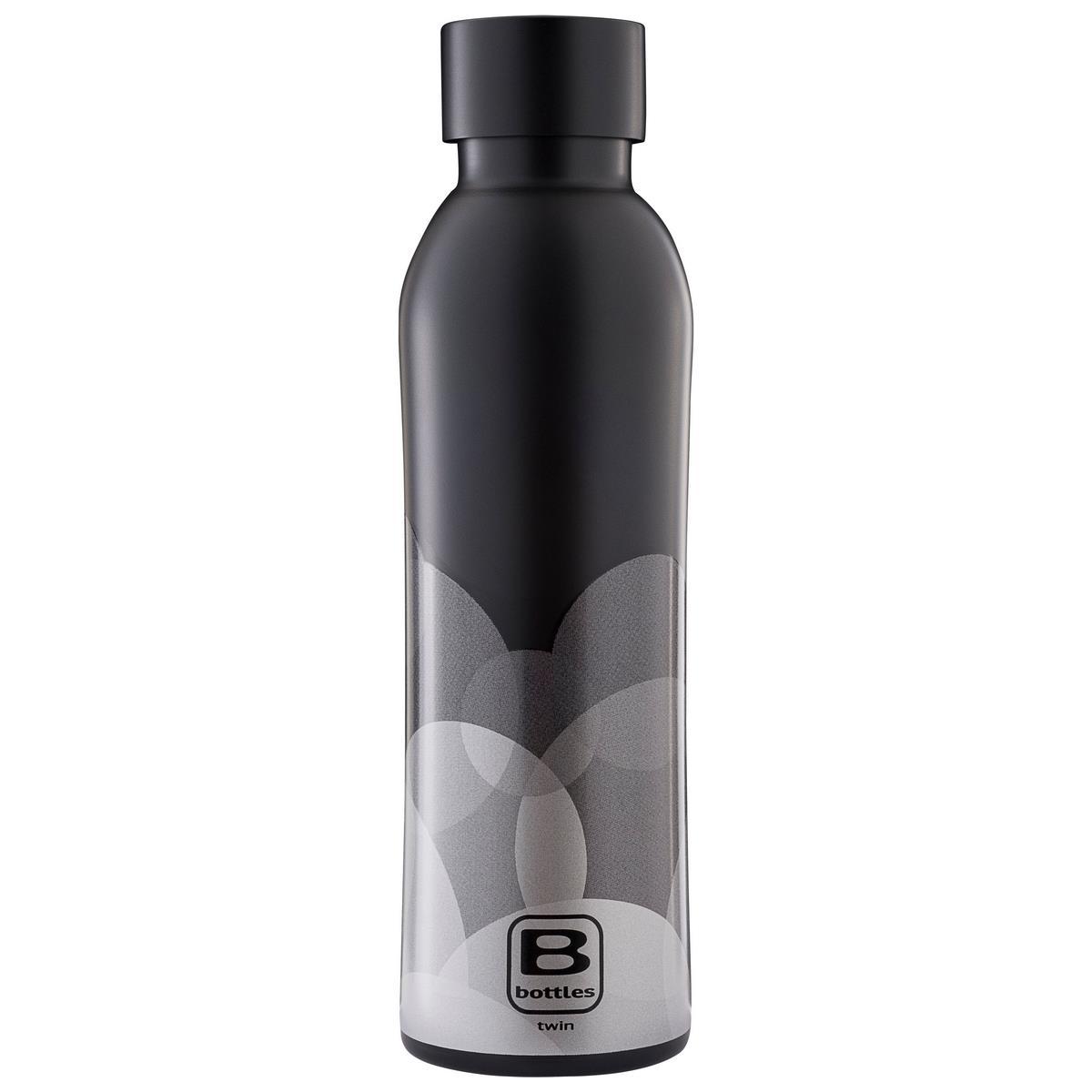 B Bottles Twin - Circle Fade - 500 ml - Bottiglia Termica a doppia parete in acciaio inox 18/10