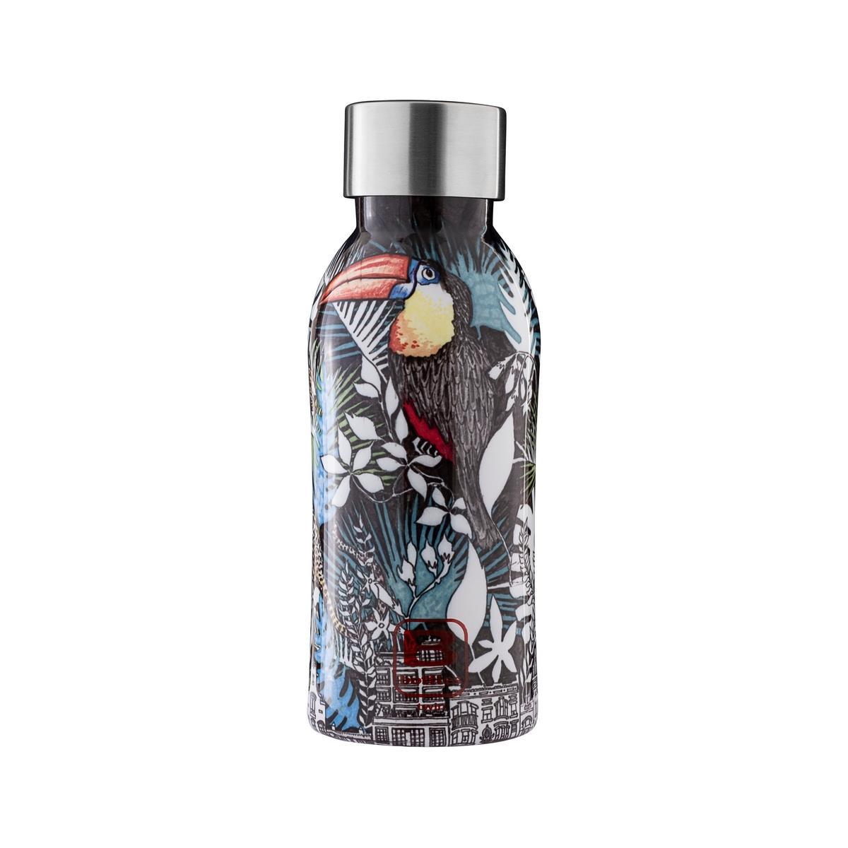 B Bottles Twin - La Ville - 350 ml - Bottiglia Termica a doppia parete in acciaio inox 18/10