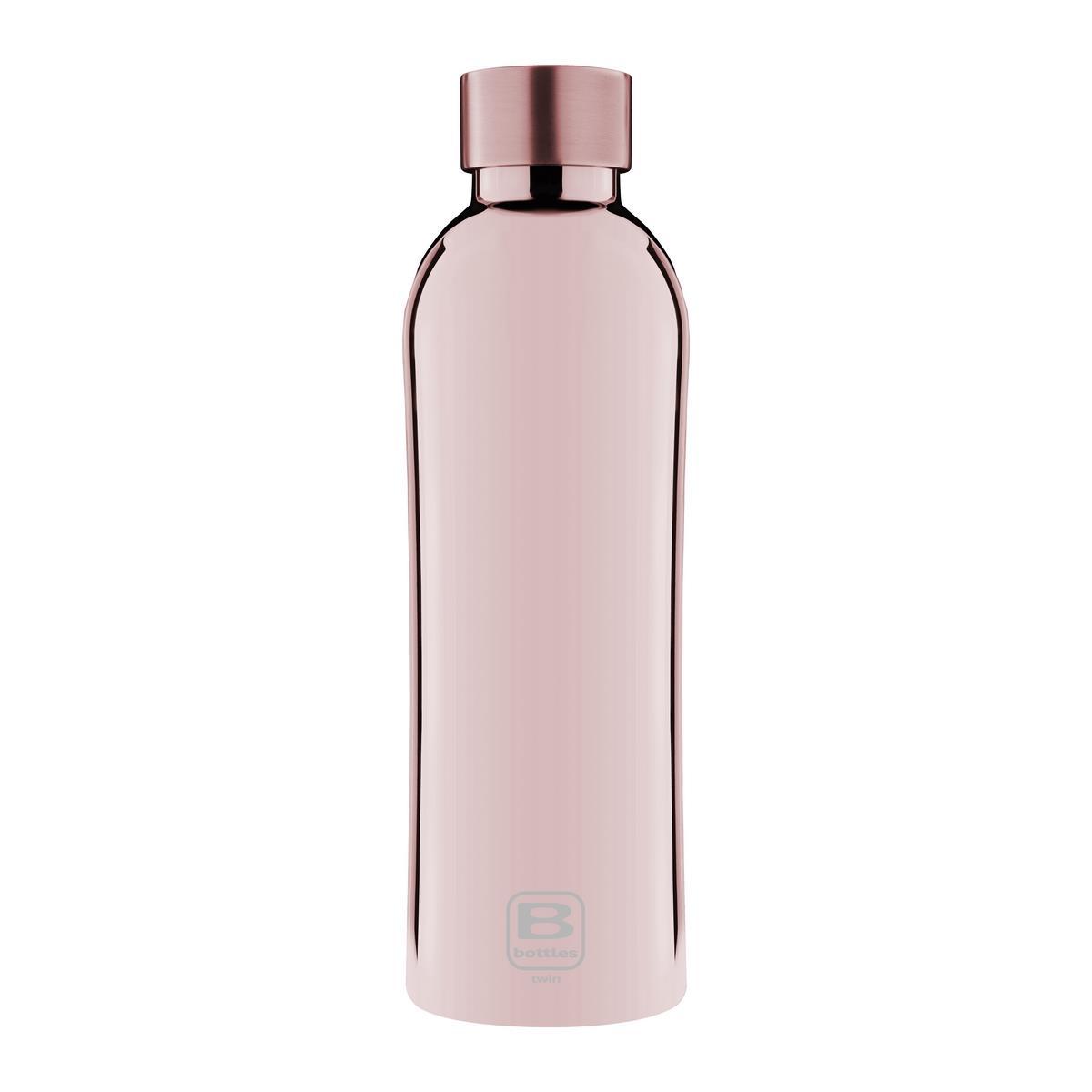 B Bottles Twin - Rose Gold Lux - 800 ml - Bottiglia Termica a doppia parete in acciaio inox 18/10