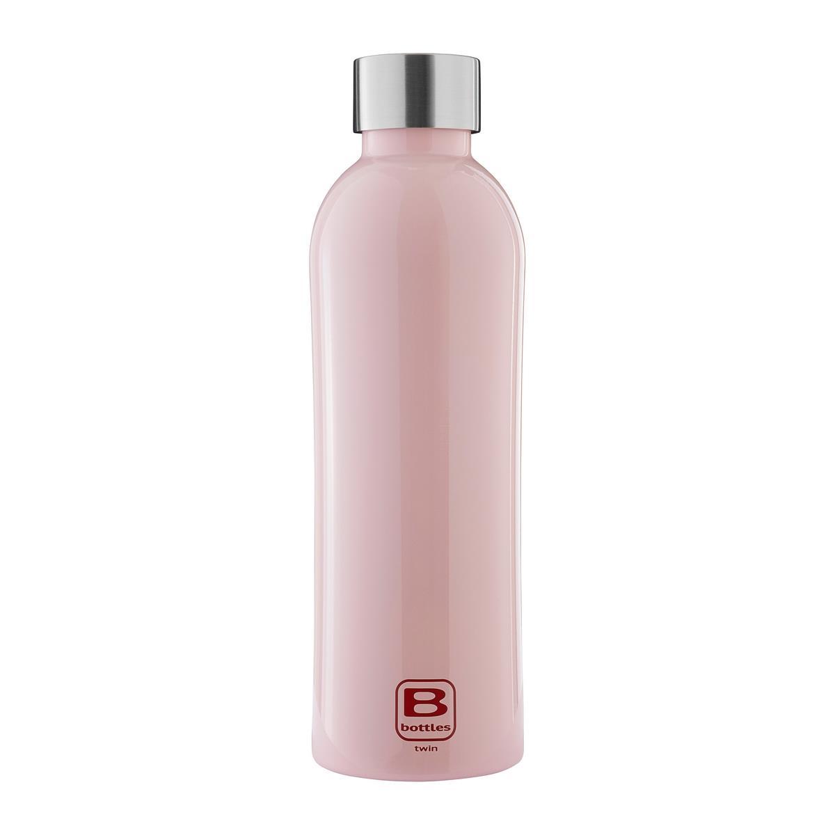 B Bottles Twin - Pink - 800 ml - Bottiglia Termica a doppia parete in acciaio inox 18/10