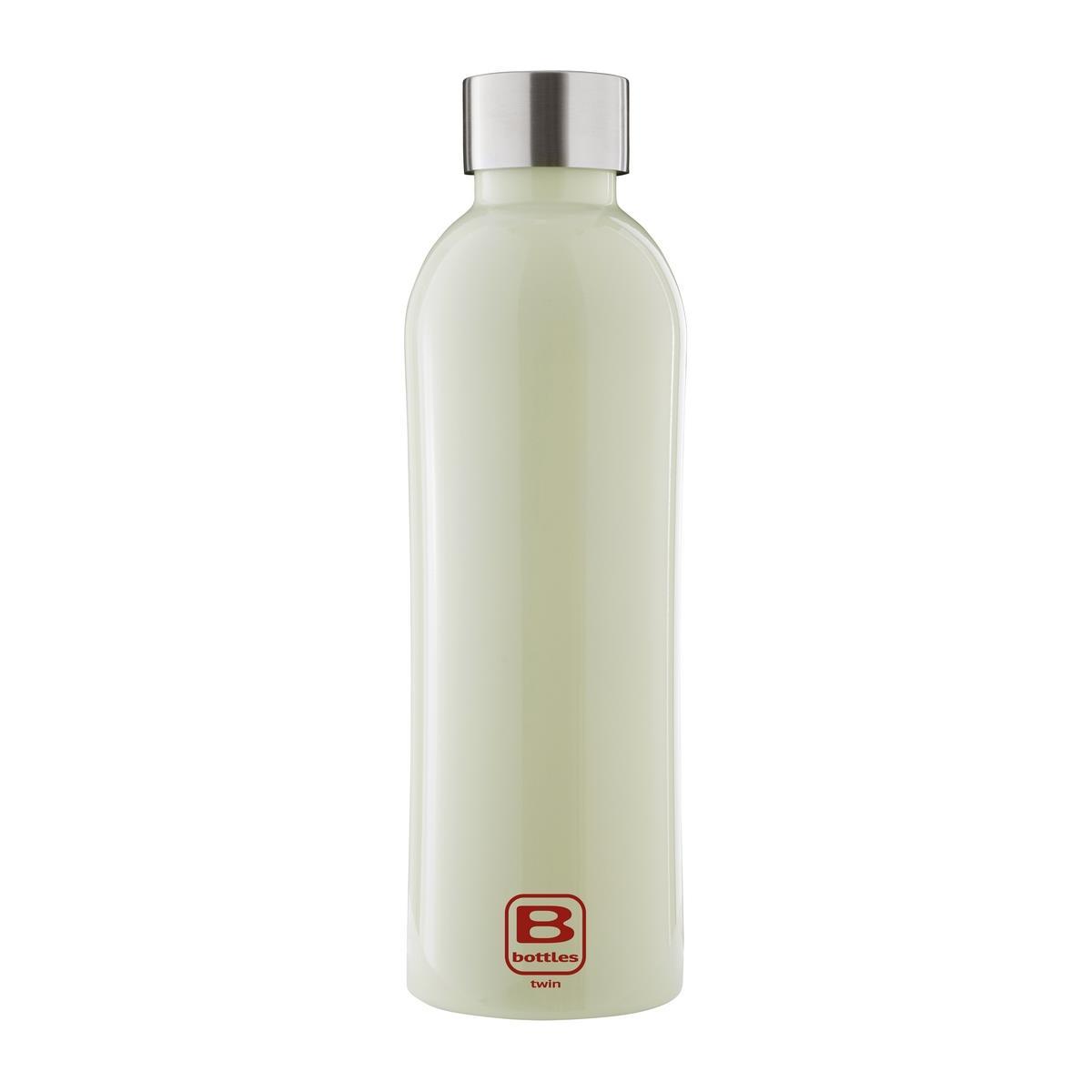 B Bottles Twin - Light Green - 800 ml - Bottiglia Termica a doppia parete in acciaio inox 18/10