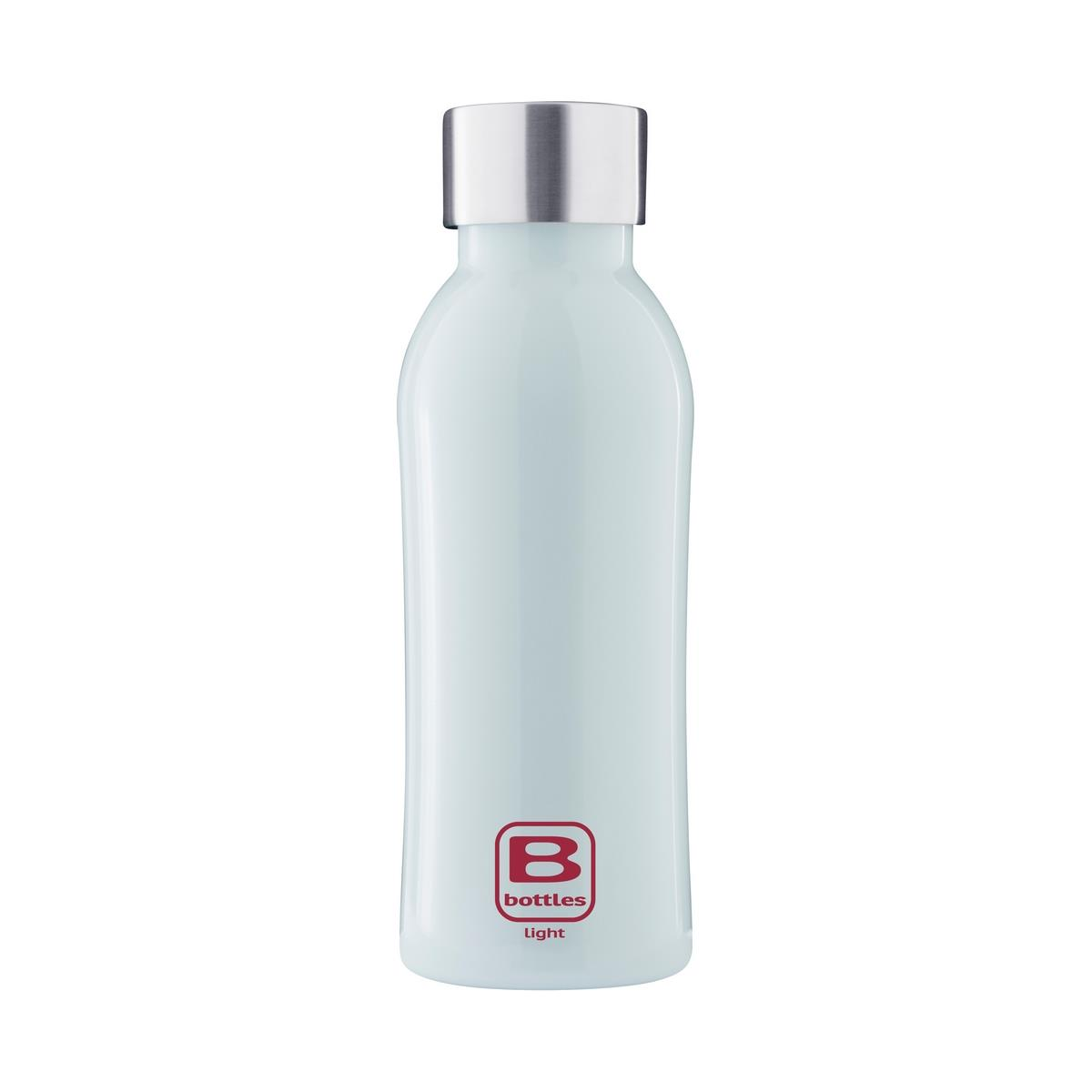 photo B Bottles Light - Light Blue - 530 ml - Bottiglia in acciaio inox 18/10 ultra leggera e compatta