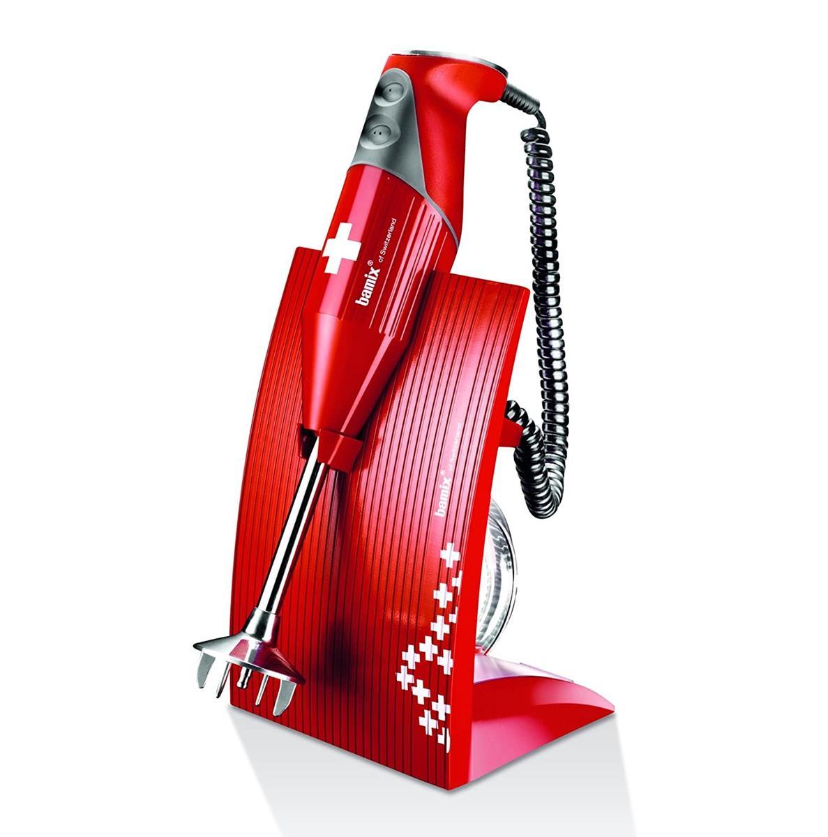 Bamix - SwissLine Red 200W Bundle Pack