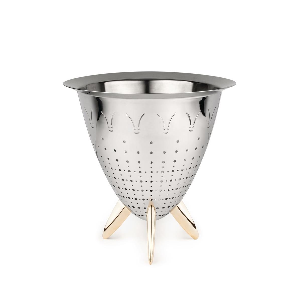 Alessi-Max le chinois Colander in 18/10 stainless steel