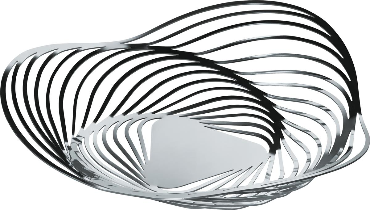 Alessi-Trinity Centerpiece in 18/10 stainless steel