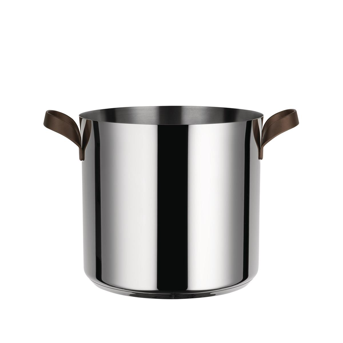 Alessi-edo Pot in 18/10 stainless steel suitable for induction