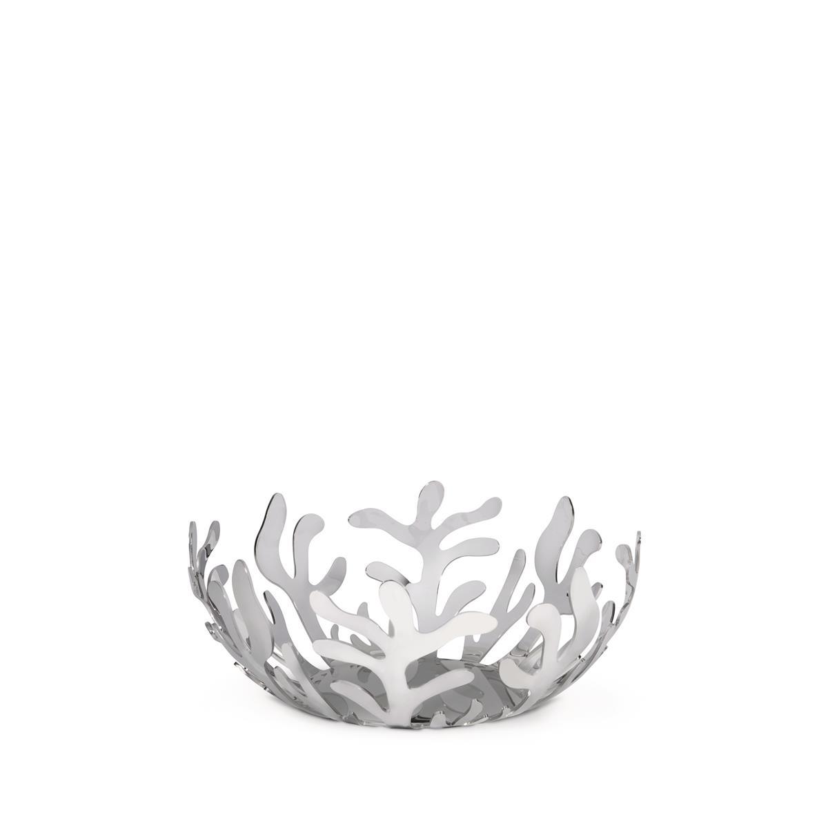 Alessi-Mediterraneo Fruit bowl in 18/10 stainless steel