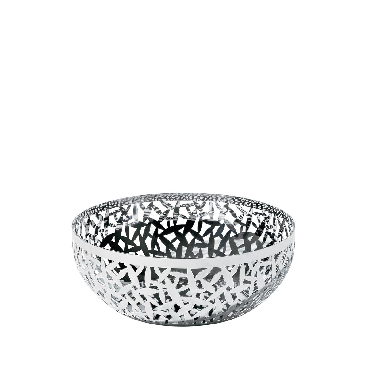 Alessi-La Stanza dello Scirocco Fruit bowl in colored steel and resin, white