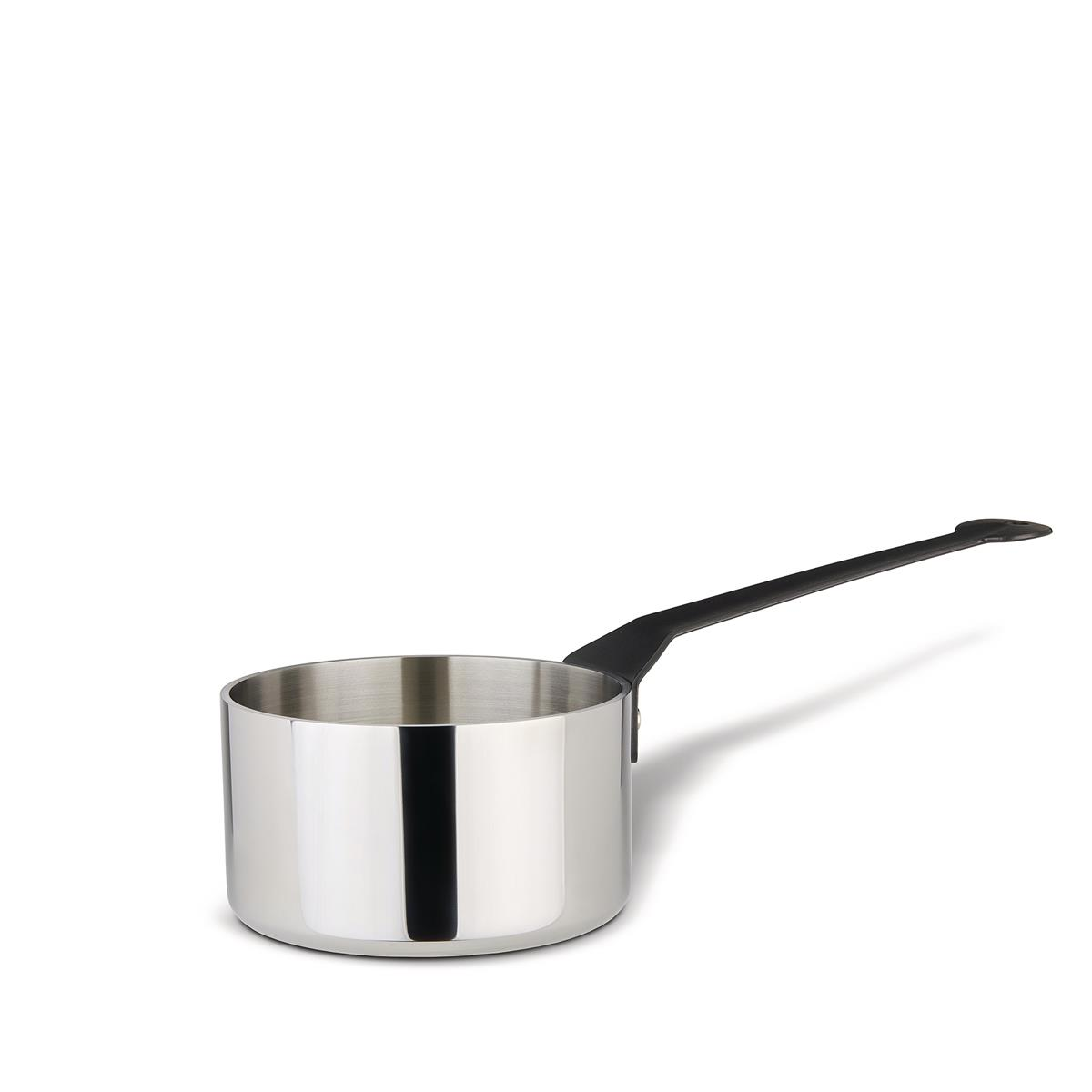 Alessi-La Cintura di Orione Casserole in trilaminate suitable for induction