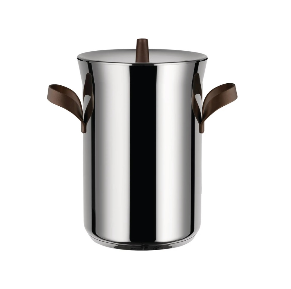 Alessi-edo Asparagus pot in 18/10 stainless steel suitable for induction