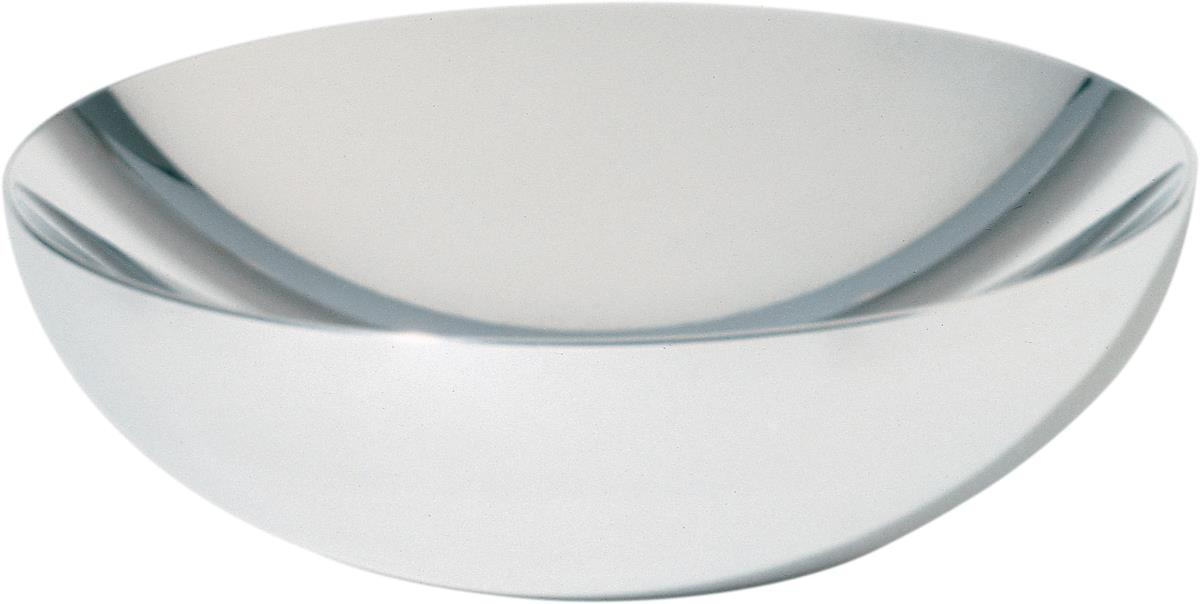 Alessi-Double Double-walled bowl in 18/10 stainless steel