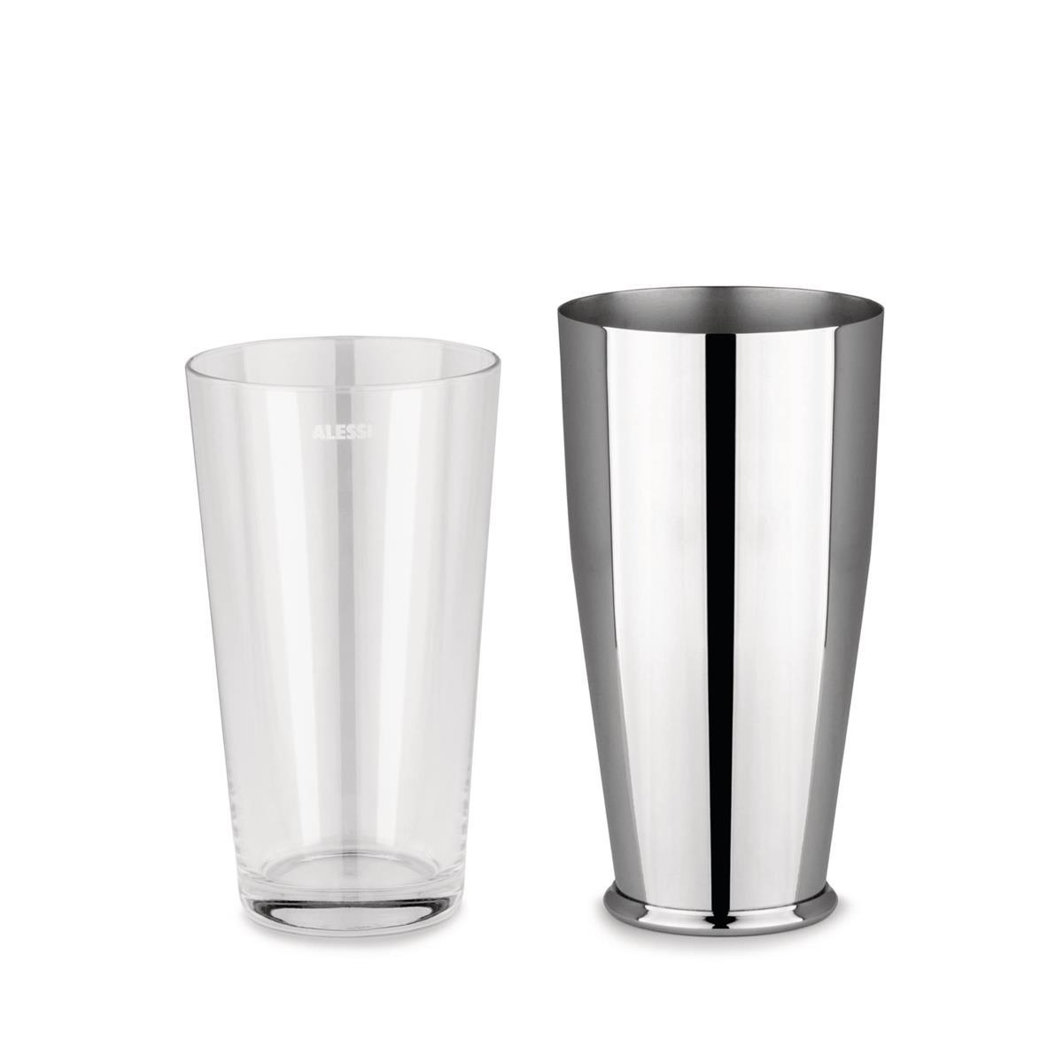 Alessi-Tonale caraffa in vetro cristallino con tappo in silicone
