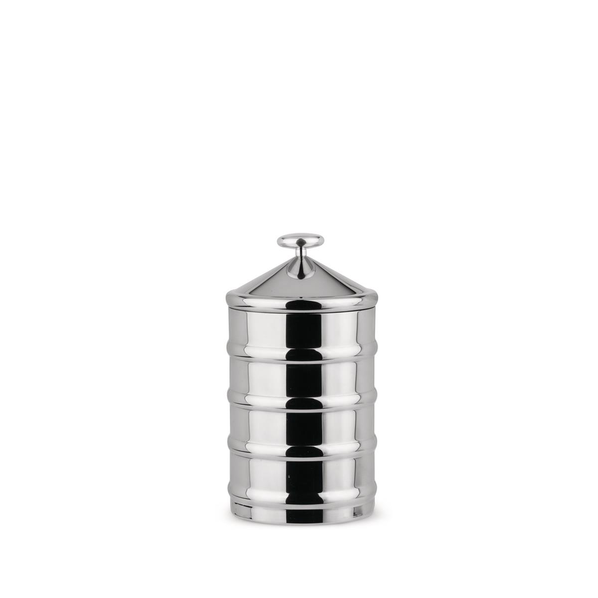 Alessi-Kalistò 3 Jar in 18/10 stainless steel with aluminum knob