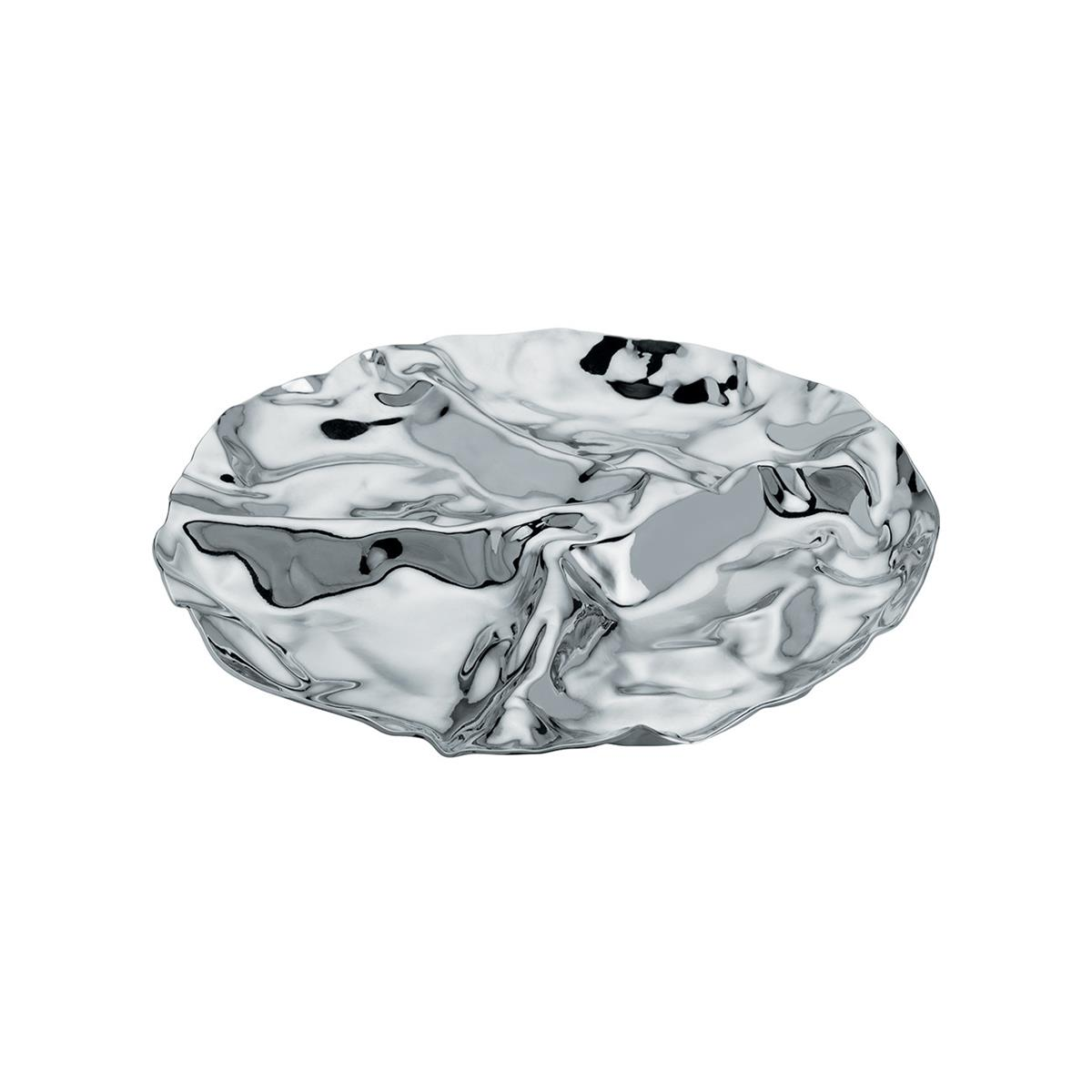 Alessi-Pepa Antipastiera with four compartments in 18/10 polished stainless steel