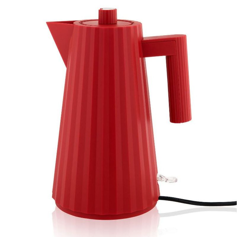 Alessi-Plissé Electric kettle in thermoplastic resin, red 2400W