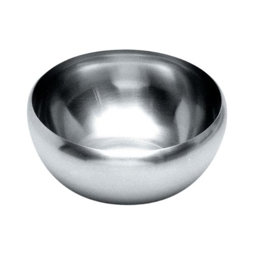 Alessi-Salad bowl in 18/10 satin stainless steel