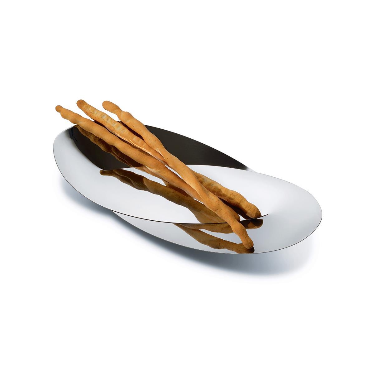 Alessi-Octave Cestino per pane e grissini in acciaio inox 18/10