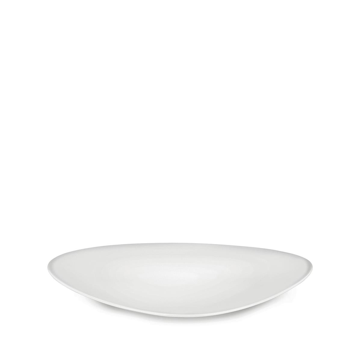 Alessi-Colombina collection Serving plate in white porcelain