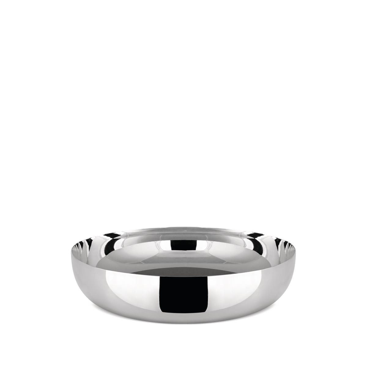 Alessi-Salad bowl in 18/10 stainless steel