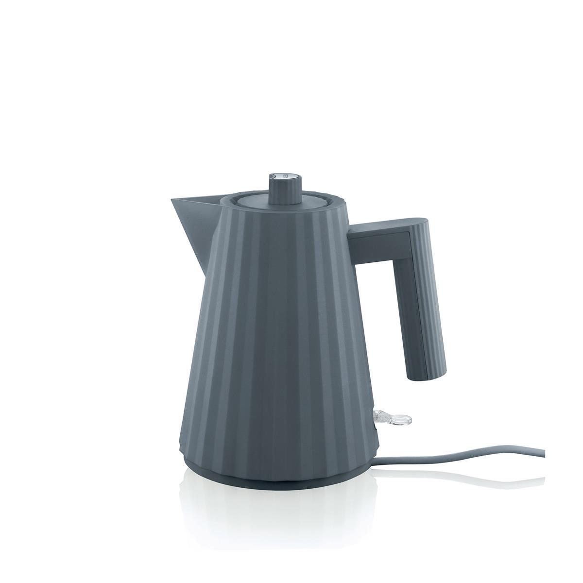 Alessi-Plissé Bollitore elettrico in resina termoplastica, grigio 2400W